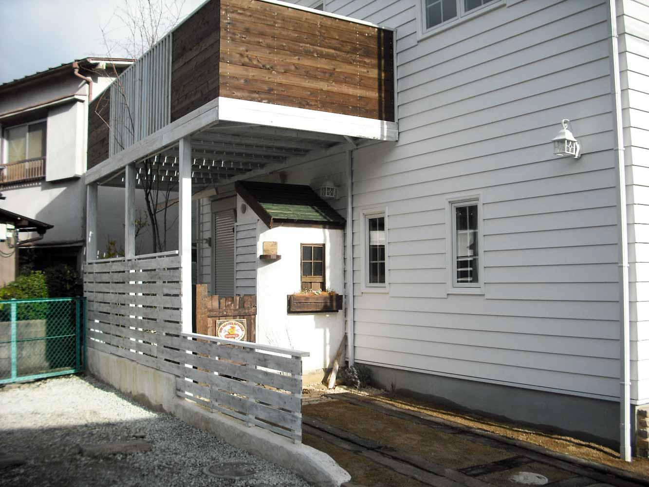 複数の問題を解決する庭小屋
