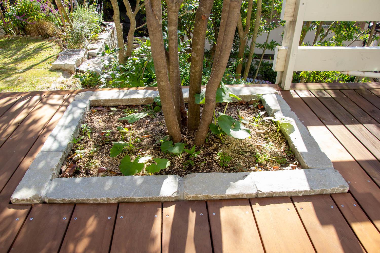 緑豊かな庭の総合リフォーム