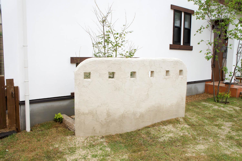 ハーフビルドで作るナチュラルガーデン
