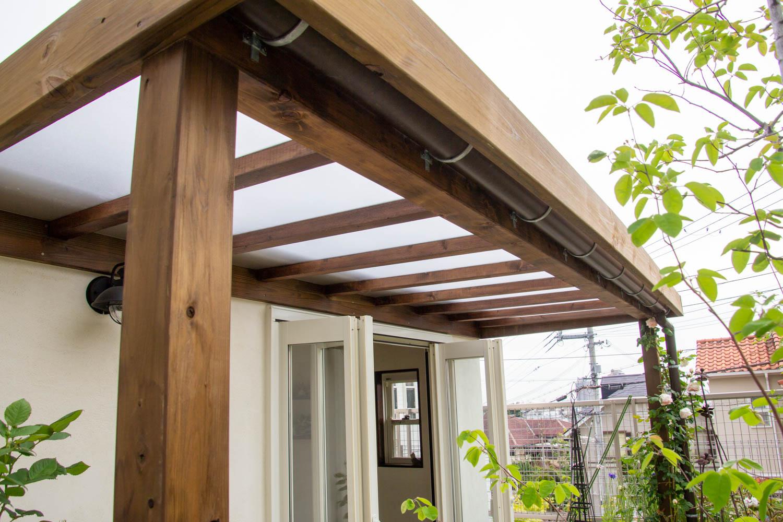 六角形の小屋