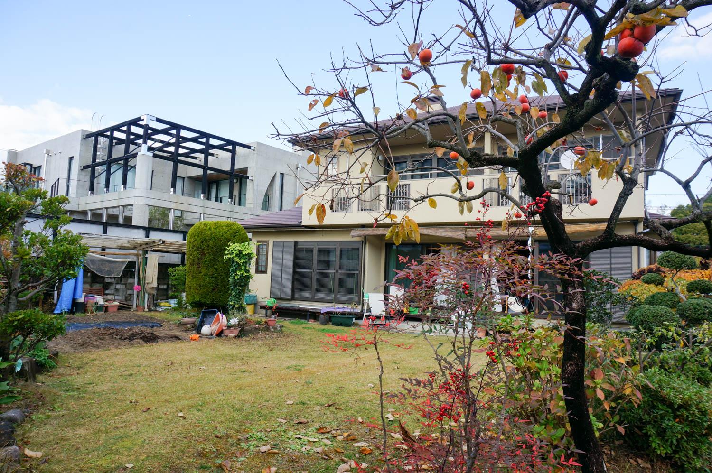 新しく暮らす家族のために庭を全面リフォームの施工前
