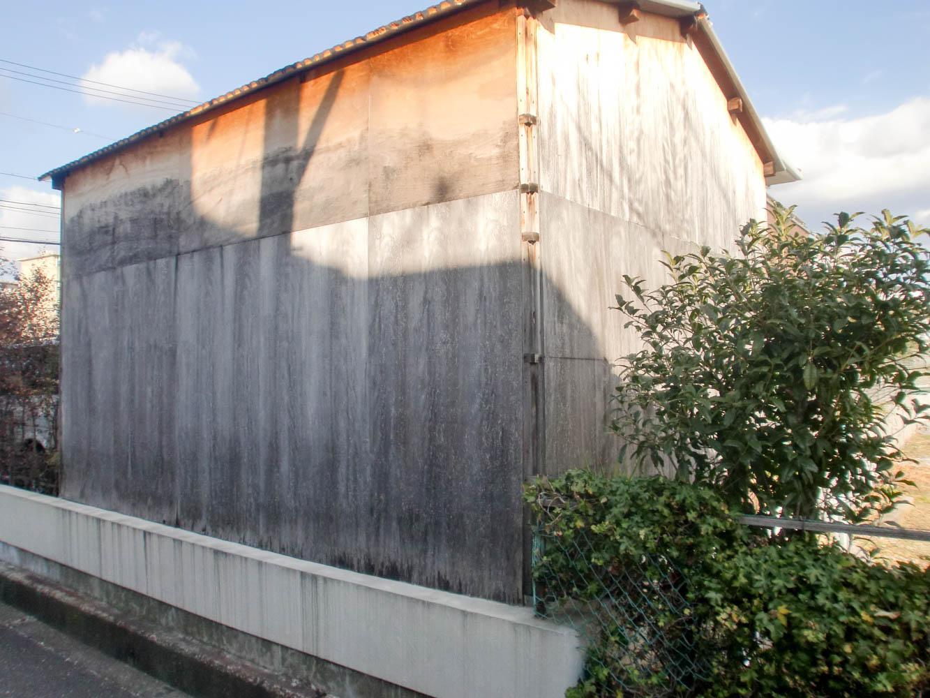 納屋(農小屋)を大人の秘密基地にリフォーム(施工前)