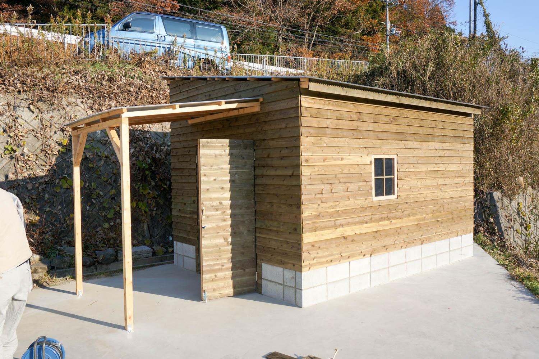 納屋(農小屋)を大人の秘密基地にリフォーム