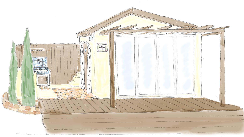 住み心地の良い庭小屋