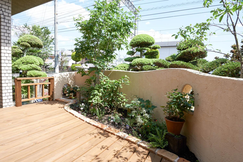 和風の庭をプチリフォーム