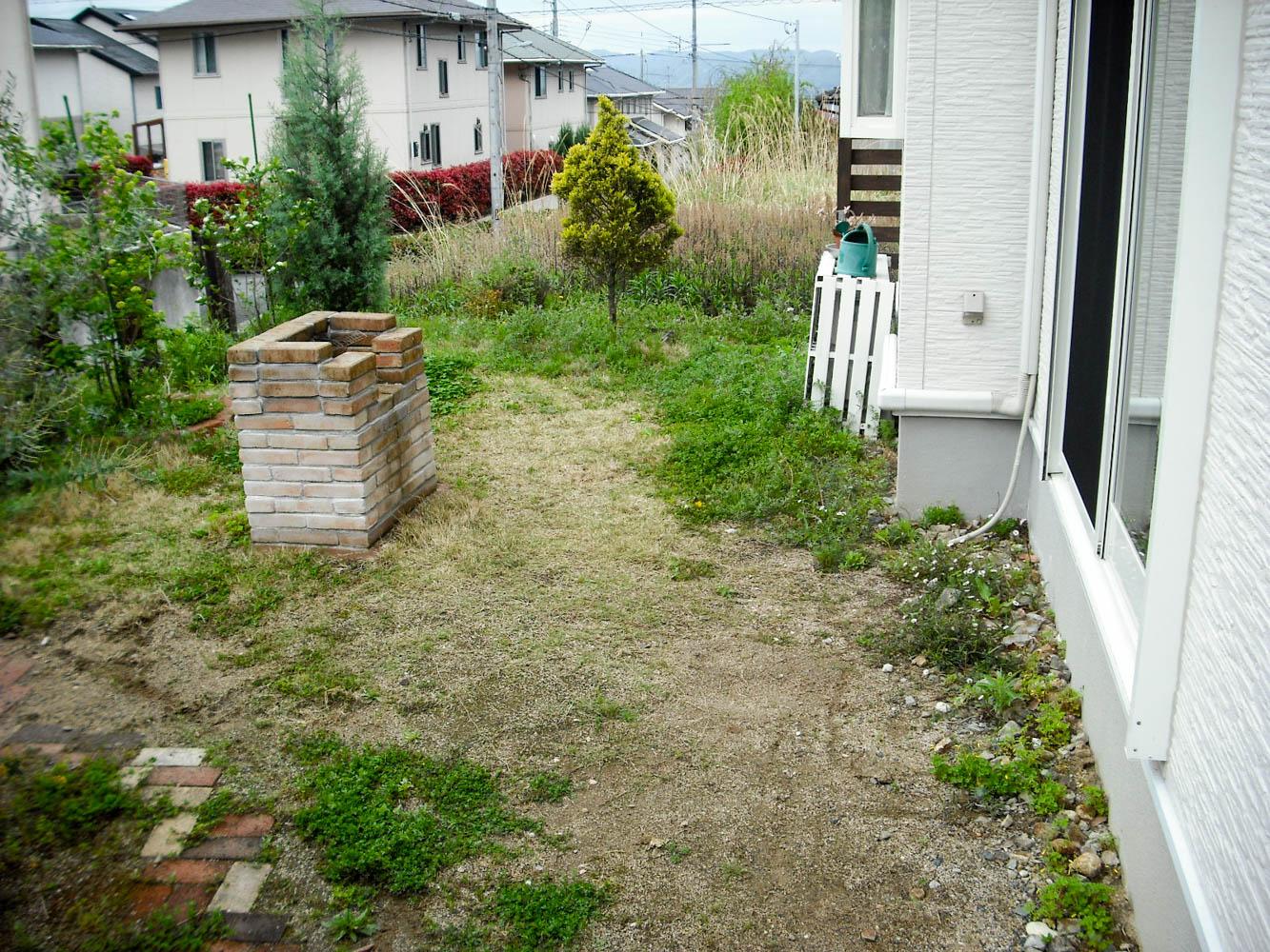 ハーフビルド作る庭