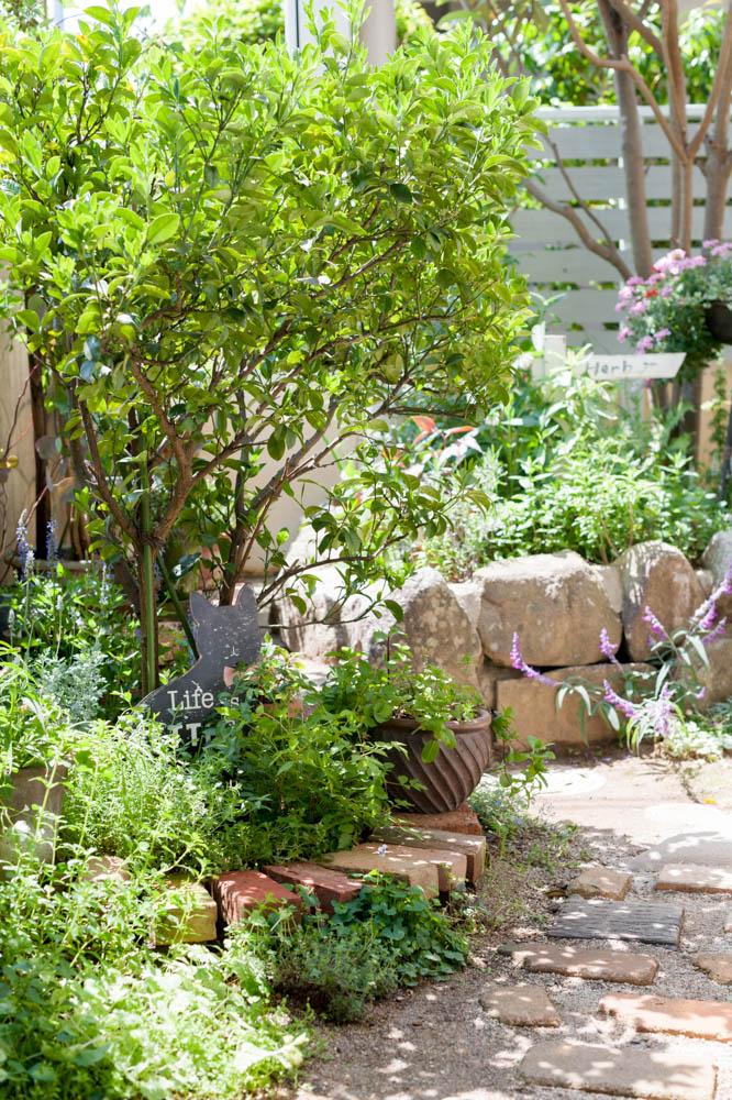 和風の庭を雑貨屋さんの可愛い庭に全面リフォーム