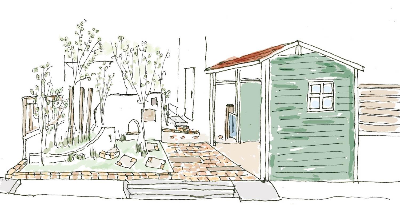 見る庭から使う庭へのリフォーム